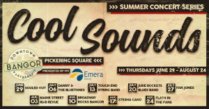 Cool Sounds Concert Series: FLASH IN THE PANS @ Pickering Square | Bangor | Maine | United States