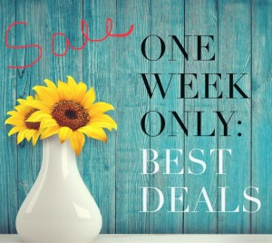 Accents One Week Sale April 25th - May 3rd @ Accents Home Furnishings & Decor